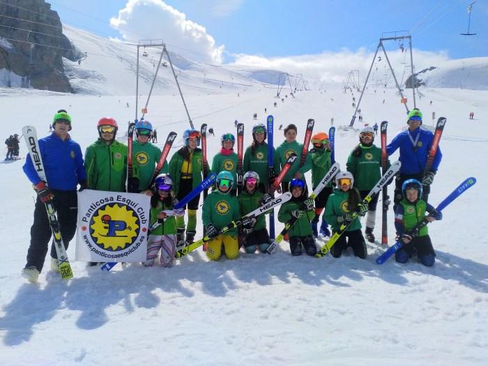 CERVINO/MATTERHORN. Camp de pretemporada del Panticosa Esquí Club.
