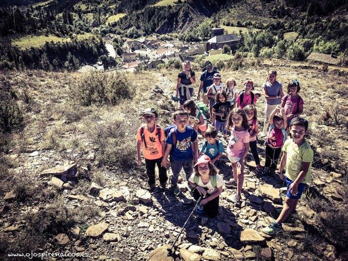 BORAU. Jornadas de Recreación en los Senderos de Borau -imagen de archivo-. (FOTO: www.ojospirenaicos.es)