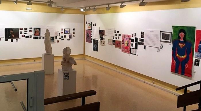 DISCAPACIDAD. Exposición de Cadis Huesca en Sabiñánigo. (FOTO: Cadis Huesca)