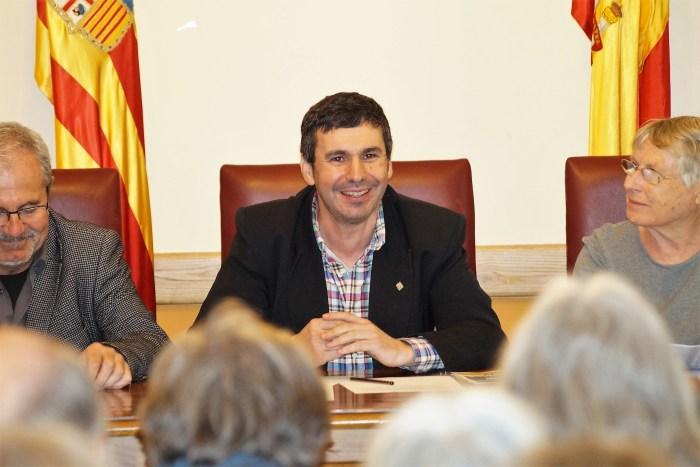 MEMORIA HISTÓRICA. Fernando Sánchez, en la inauguración del encuentro. (FOTO: Rebeca Ruiz)