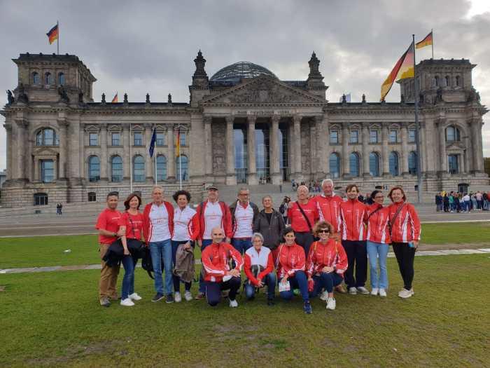 BERLÍN. Participación del Club Atletismo Jaca en la prestigiosa maratón.