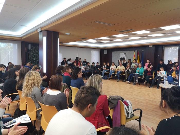 ABSENTISMO. Jornada sobre absentismo escolar en la Comarca de la Jacetania. (FOTO: Comarca de la Jacetania)