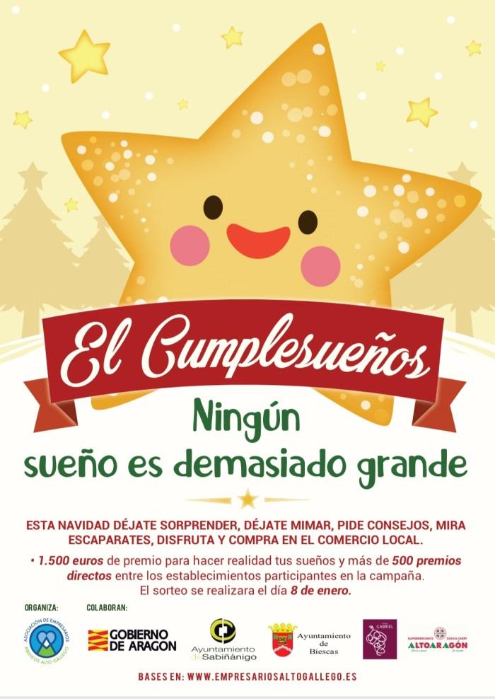 CUMPLESUEÑOS. Imagen de la campaña. (FOTO: Rebeca Ruiz)