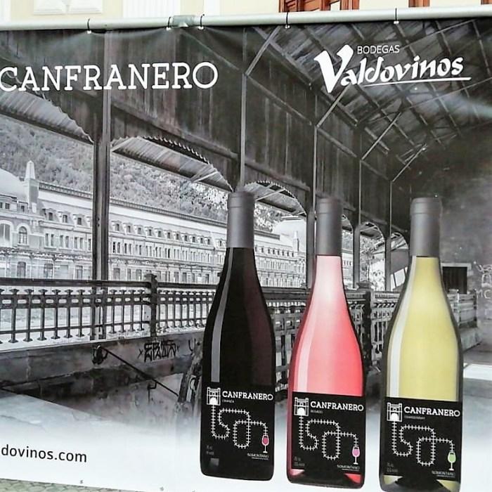CANFRANERO. Etiquetado de los nuevos vinos.