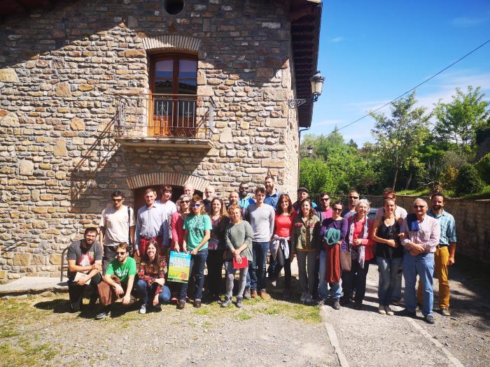 EMPLEO Y DESARROLLO LOCAL. Jornadas sobre iniciativas de jóvenes. (FOTO: Comarca de la Jacetania)