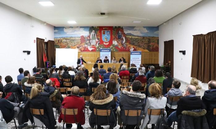 PLAN DE REVITALIZACIÓN. Presentación. (FOTO: Mónica Ballarín/Acomseja)