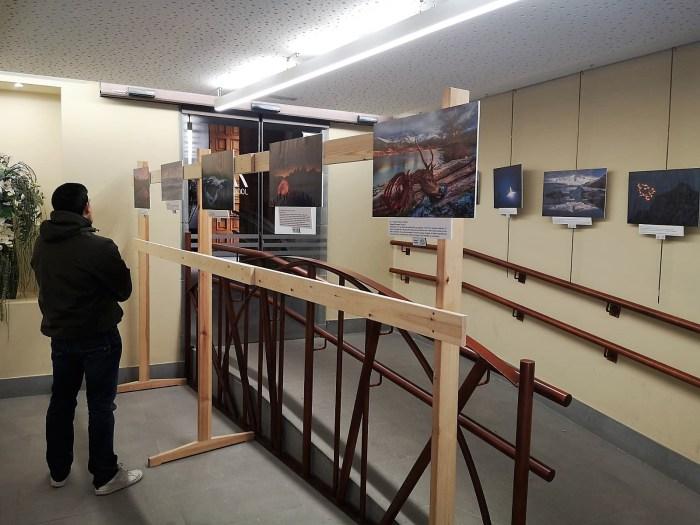 JUAN PIXELECTA. La exposición del prestigioso fotógrafo ya se puede visitar en Jaca. (FOTO: Javi del Pueyo)
