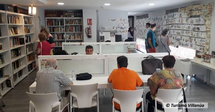 REAPERTURA. La DPH ha editado una guía dirigida a la reapertura de bibliotecas. Biblioteca de Villanúa, en una imagen de archivo. (FOTO: Turismo Villanúa)