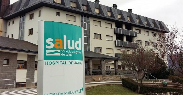EN LA RETAGUARDIA. Hospital de Jaca.