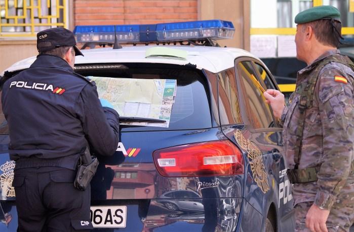 JACA. Coordinación para patrullar las distintas zonas de la ciudad. (FOTO: Rebeca Ruiz)