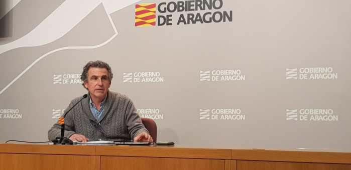 GABINETE DE CRISIS POR EL CORONAVIRUS. El director general de Salud Pública, Francisco Javier Falo. (FOTO: Gobierno de Aragón)