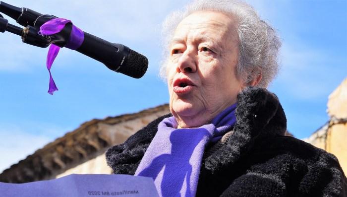 María Josefa Yzuel. (FOTO: Rebeca Ruiz)