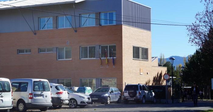 EDUCACIÓN. IES San Alberto Magno de Sabiñánigo (FOTO: Rebeca Ruiz)