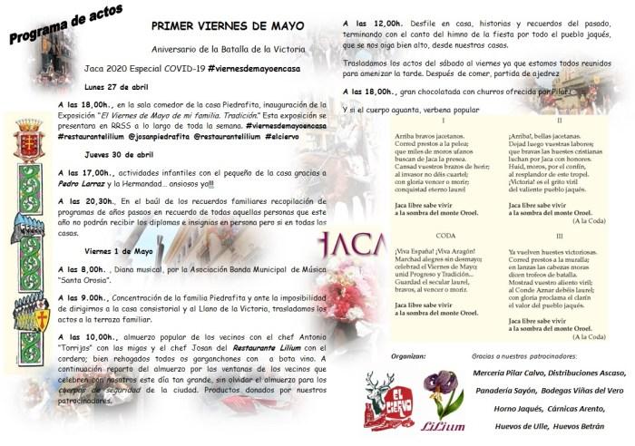 FIESTA. Programa de activides organizado por el Restaurante Lilium.