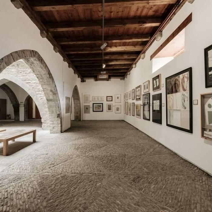 ARTE. Museo de Dibujo Julio Gavín-Castillo de Larrés. (FOTO: Museo de Dibujo Julio Gavín/Benjamín & Nadia)