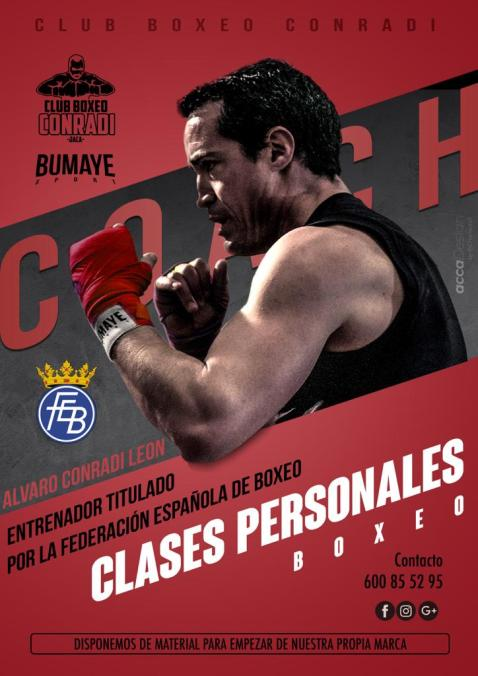 CLUB DE BOXEO CONRADI. Álvaro Conradi recibe el reconocimiento del WBC.