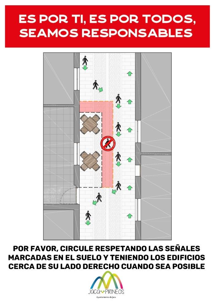 Normas para peatones.