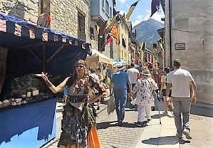 PANTICOSA. Mercado Medieval.