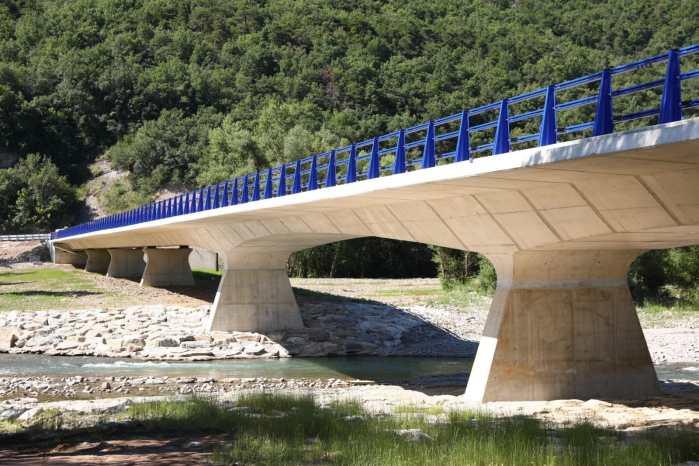 INFRAESTRUCTURA. Nuevo puente de acceso a Ascara. (FOTO: Gobierno de Aragón)