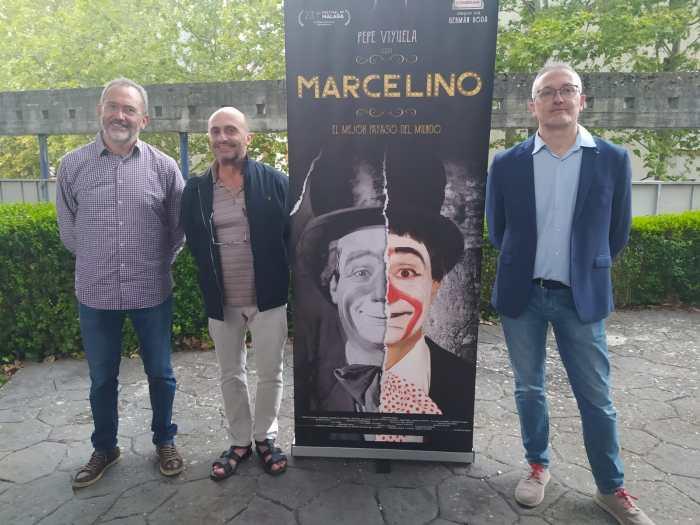 SAN LURE. Javier Acín, Pepe Viyuela y Juan Manuel Ramón. (FOTO: Rebeca Ruiz)