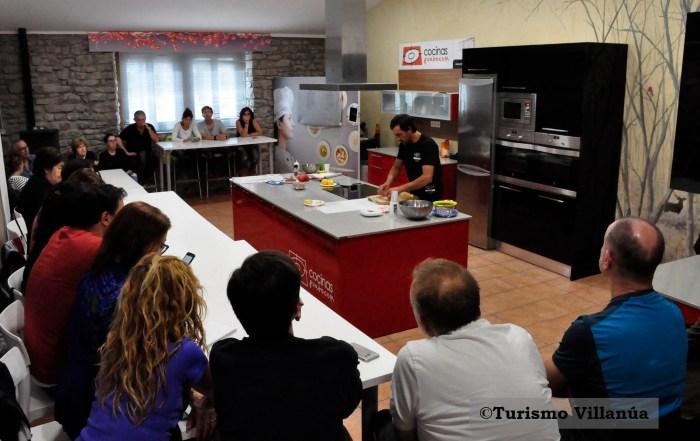 TALLER. Actividades en el Gastroespacio de Villanúa, en una imagen de archivo. (FOTO: Turismo Villanúa)