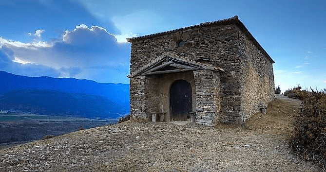 VISITAS. La ruta Mitos y tradiciones populares lleva hasta Orante. (FOTO: Ayuntamiento de Jaca)