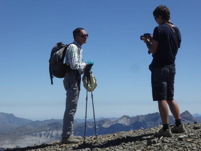 'Plantas de las cumbres del Pirineo', una presentación de altura
