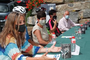 PANTICOSA. Presentación de la nueva estrategia de promoción del cicloturismo.