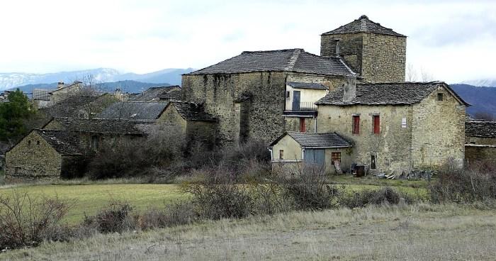 AFECCIONES. Cortes de agua en Osia. (FOTO: Turismo de Aragón)