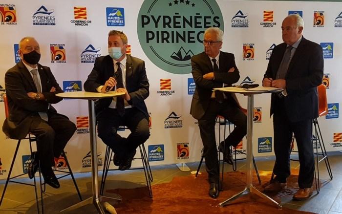 Nueva Agrupación Europea de Cooperación Territorial Pirineos-Pyrénées, para la gestión conjunta de los pasos transfronterizos. (FOTO: Gobierno de Aragón)