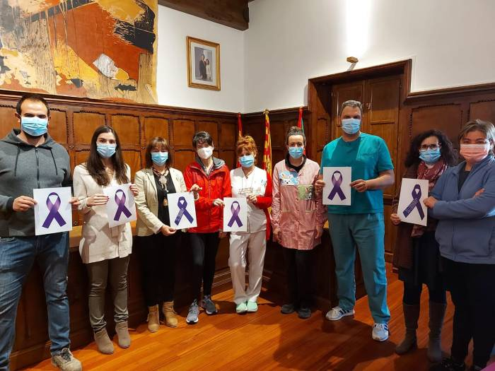 Día Internacional de la Eliminación de la Violencia Contra la Mujer en Biescas.