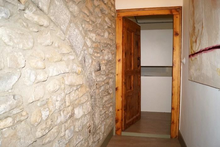 Arco original en el interior de Casa Trigo. (FOTO: Rebeca Ruiz)