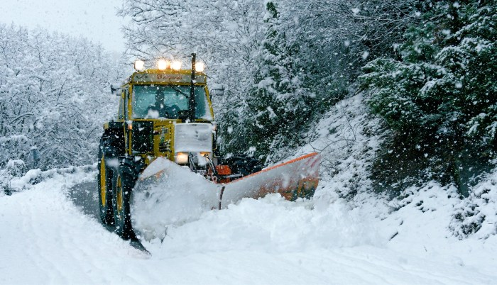 El plan de vialidad invernal de la DPH llegará a 650 poblaciones. (FOTO: DPH/Sergio Padura)