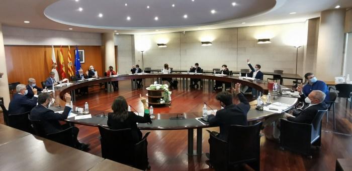 El pleno de la DPH ha aprobado un plan de ayudas de apoyo a los autónomos y pymes del Alto Aragón, con una línea específica para la hostelería. (FOTO: DPH)