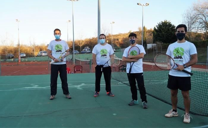 Entrenadores de Pyrene Jaca. (FOTO: Rebeca Ruiz)