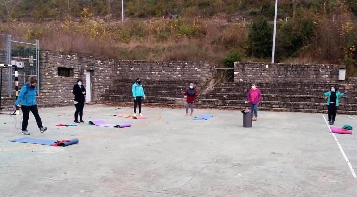 Actividades deportivas de la Comarca de la Jacetania. (FOTO: Comarca de  la Jacetania)