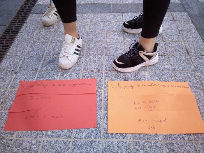 Día Internacional de la Eliminación de la Violencia Contra la Mujer en Jaca (Comarca de la Jacetania).