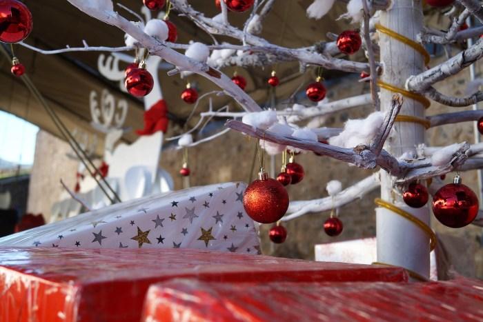 Mucha ilusión estas navidades, en la Ciudadela de Jaca. (FOTO: Rebeca Ruiz)