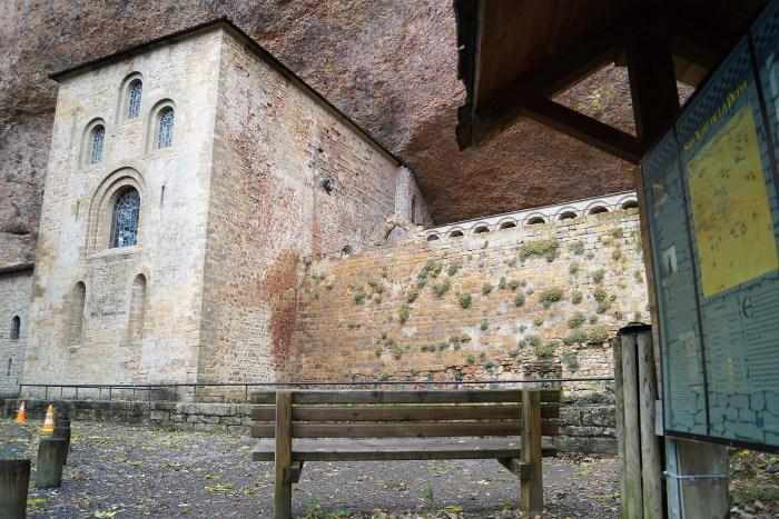 San Juan de la Peña, donde estuvo custodiado el Santo Grial. (FOTO: Rebeca Ruiz)