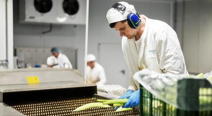 Un trabajador de Atades, realizando su labor. (FOTO: Atades)