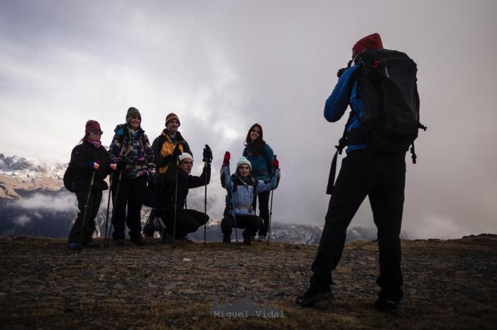 Salida del equipo de montaña de Valentia. (FOTO: Miguel Vidal)