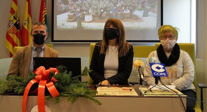Baratech, Fernández y Briggs, durante la presentación de las acciones conjuntas de Ayuntamiento y empresarios. (FOTO: Rebeca Ruiz)