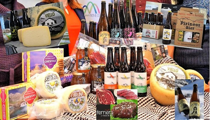 Adecuara invita a consumir productos del territorio estas navidades. (FOTO: Rebeca Ruiz)