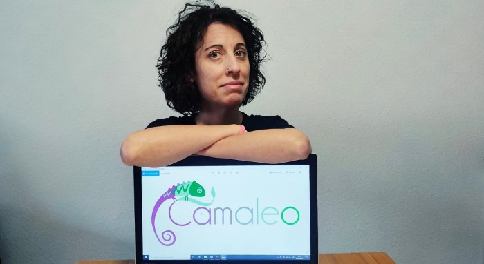 Ángela Millán, responsable de Camaleo, que desarrollará el proyecto Tararaina.