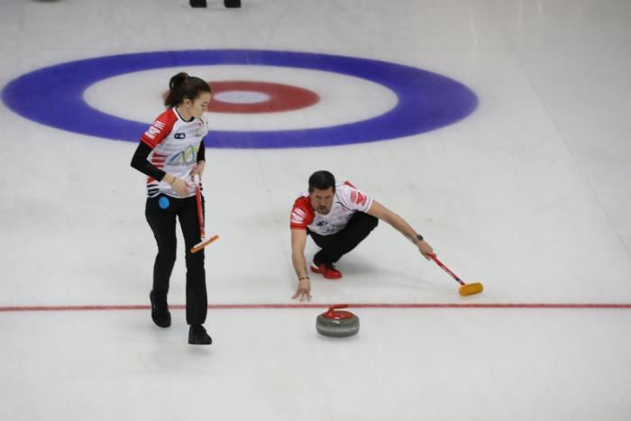 Club Hielo del Pirineo Curling.