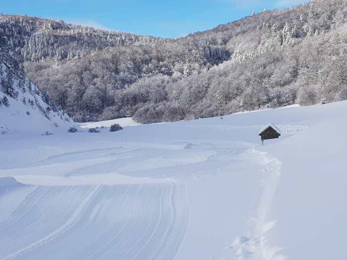 Espacio nórdico de Linza. (FOTO: Espacios Nórdicos de Aragón)