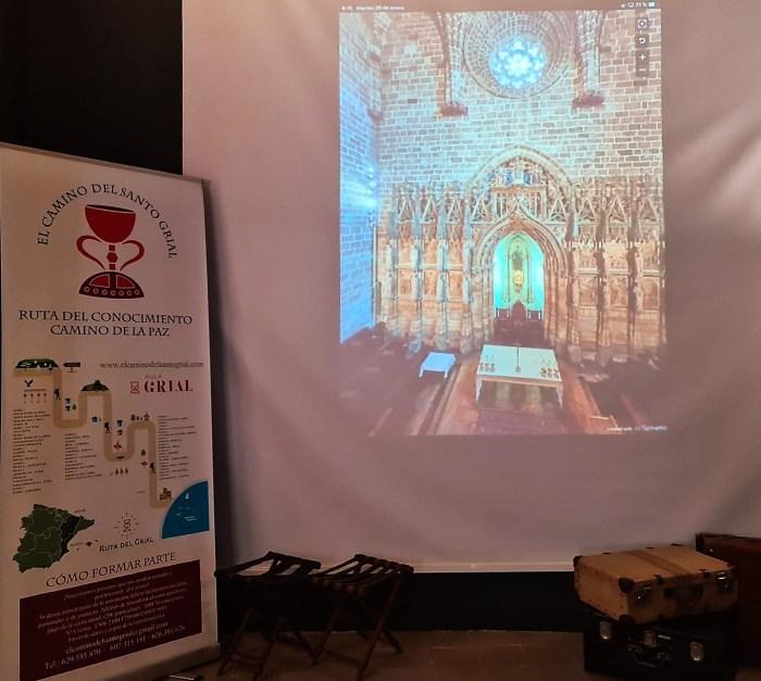Aragón muestra el potencial del Camino del Santo Grial en un nuevo espacio temático en Valencia