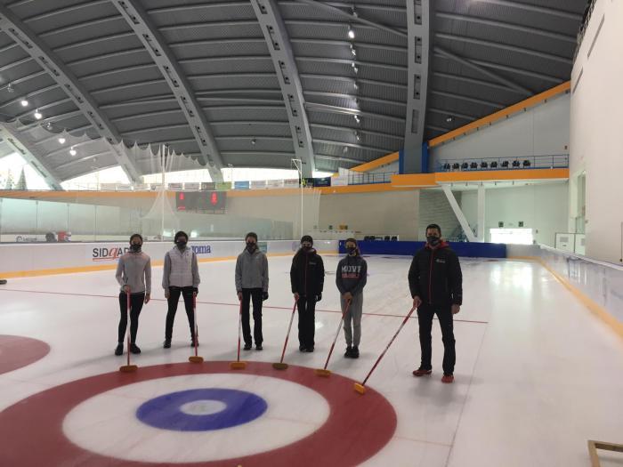 Aula de Tecnificación de Curling.