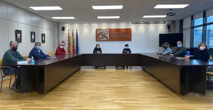 SOSPirineo traslada sus peticiones al Gobierno de Aragón a través de la Comarca Alto Gállego. (FOTO: #SOSPirineoAragones)