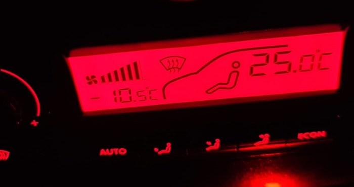 Los termómetros se desploman en La Jacetania y el Alto Gállego. (FOTO: Rebeca Ruiz)